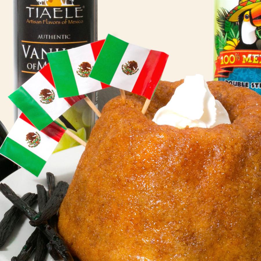 Caribbean Mexican Vanilla Rum Cakes, Cozumel Mexico Gifts & Souvenirs